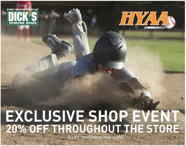 Dick's Shop Day March 8th