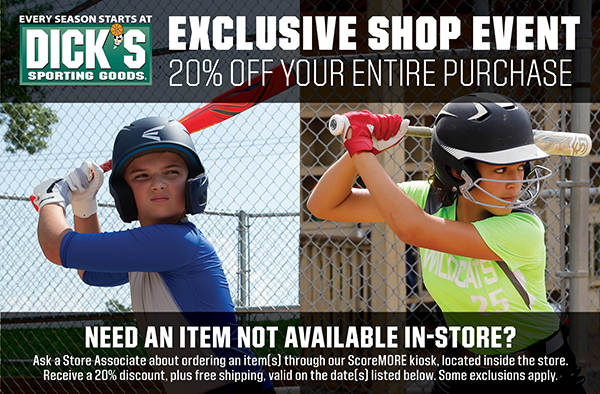 Dick's sporting good shop day